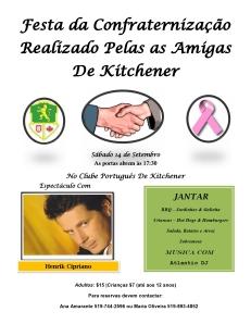 Festa Das Amigas 2013 Flyer
