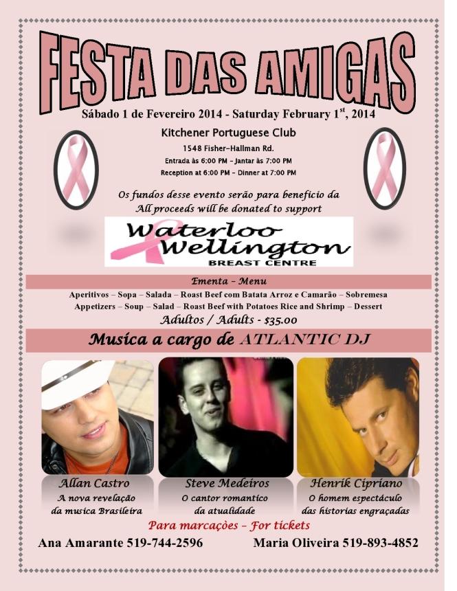 Amigas Poster 2014