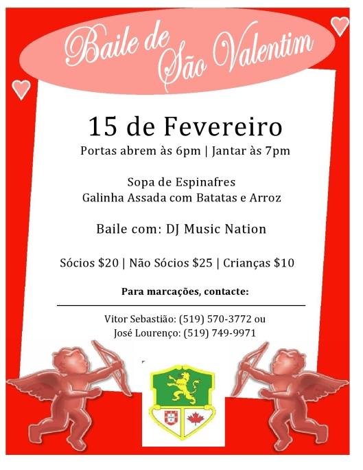 Fev 15 - S.Valentim