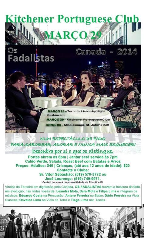 Os Fadalistas Show - Mar. 29, 2014
