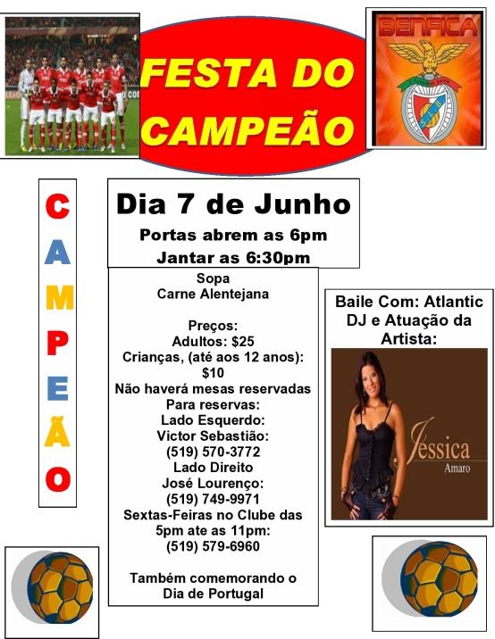 Festa do Campeão - Dia 7 de Junho 2014