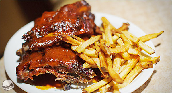 BBQ Ribs & Fries