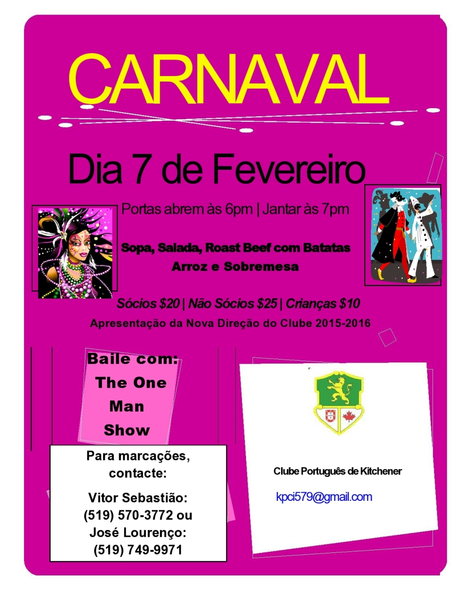 Fev. 7 - Carnaval