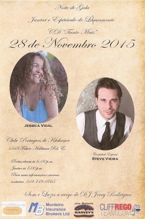 CD Launch Party Jessica Vidal