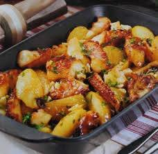 Octopus & Potatoes