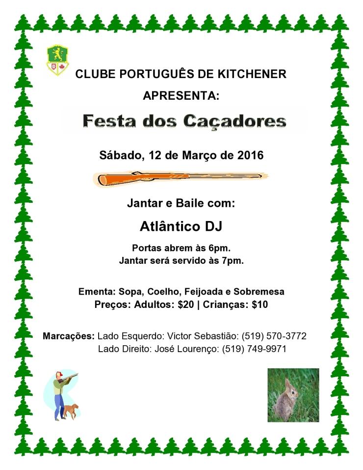 Festa Dos Caçadores 2016