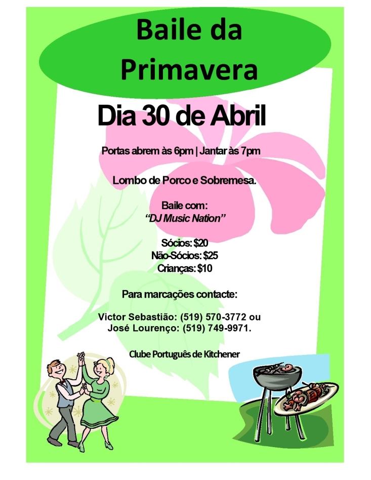 Apr. 30th - Baile da Primavera