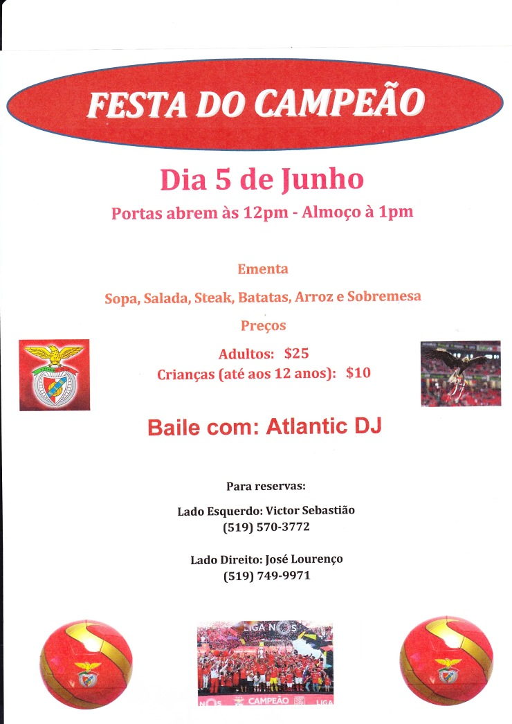 Festa do Campeao - Benfica 2016