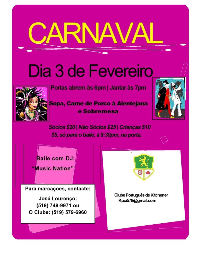 Fev. 3 - Carnaval