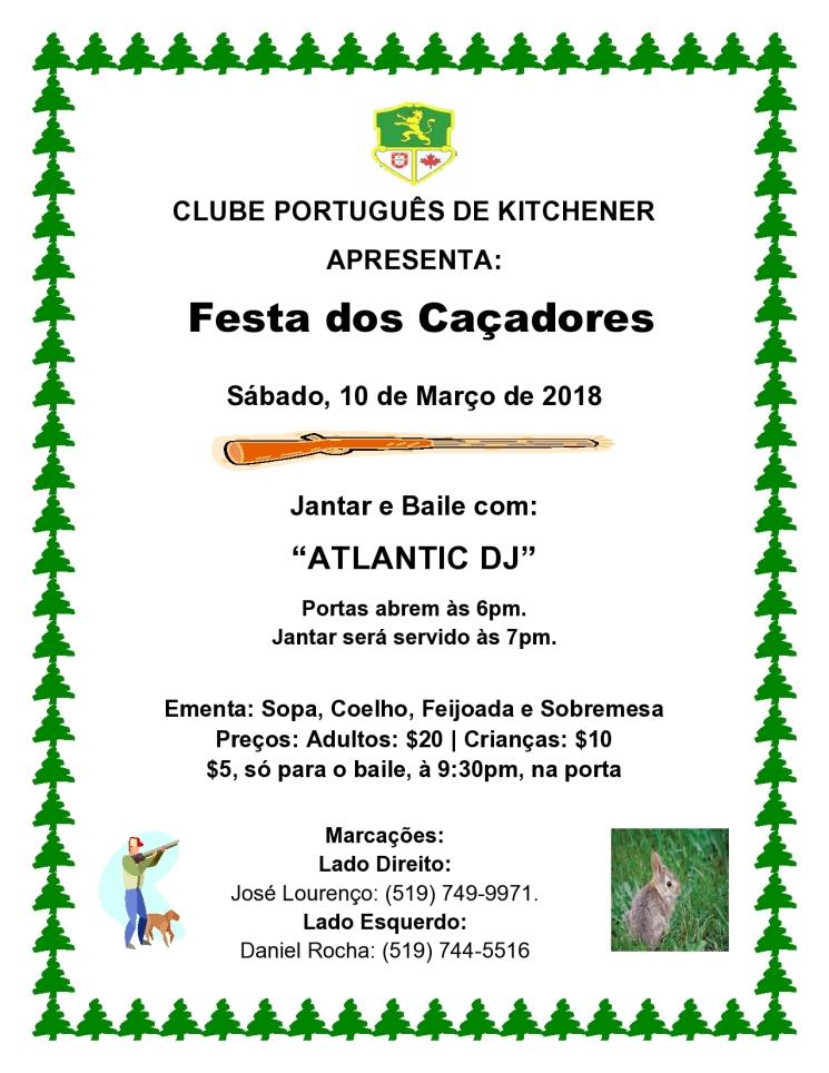Festa Dos Caçadores 2018