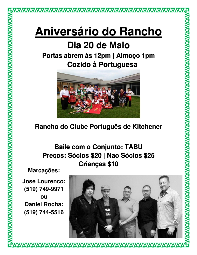 Aniversario Do Rancho 2018