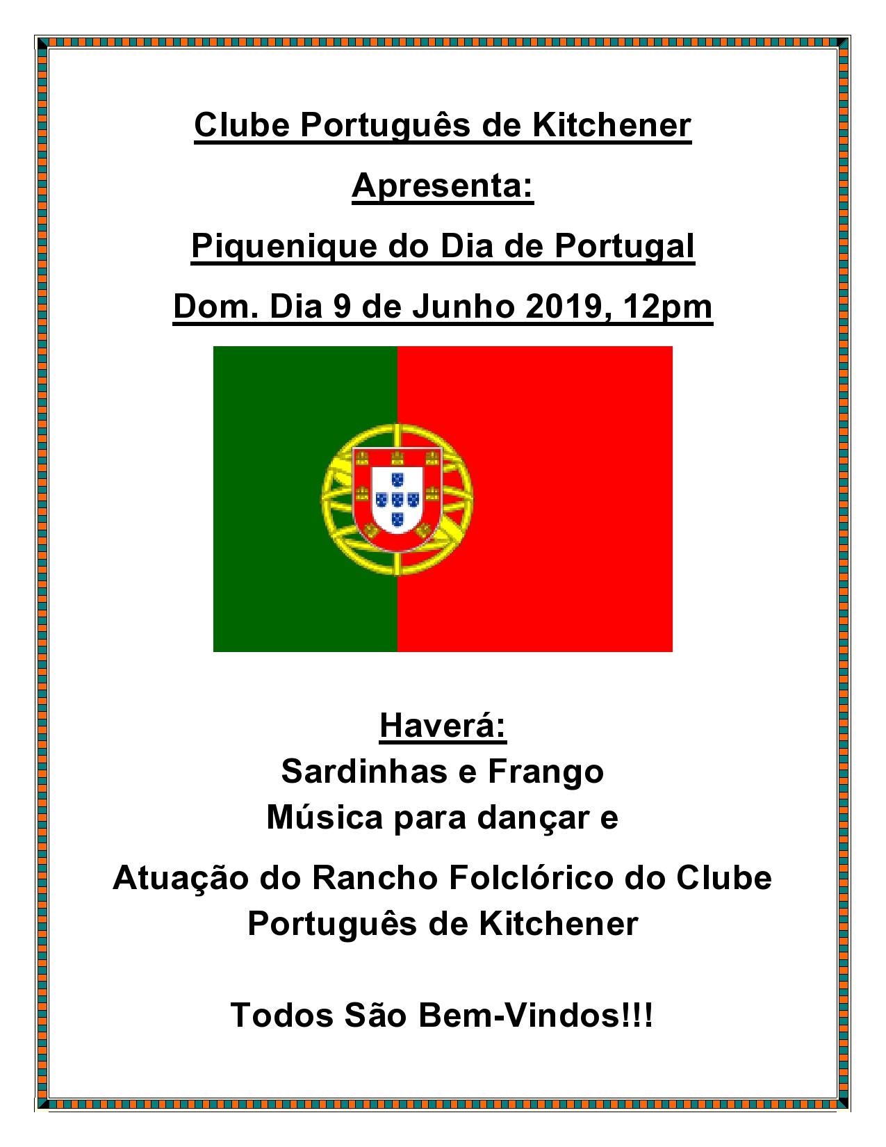 Piquenique do Dia de Portugal 2019