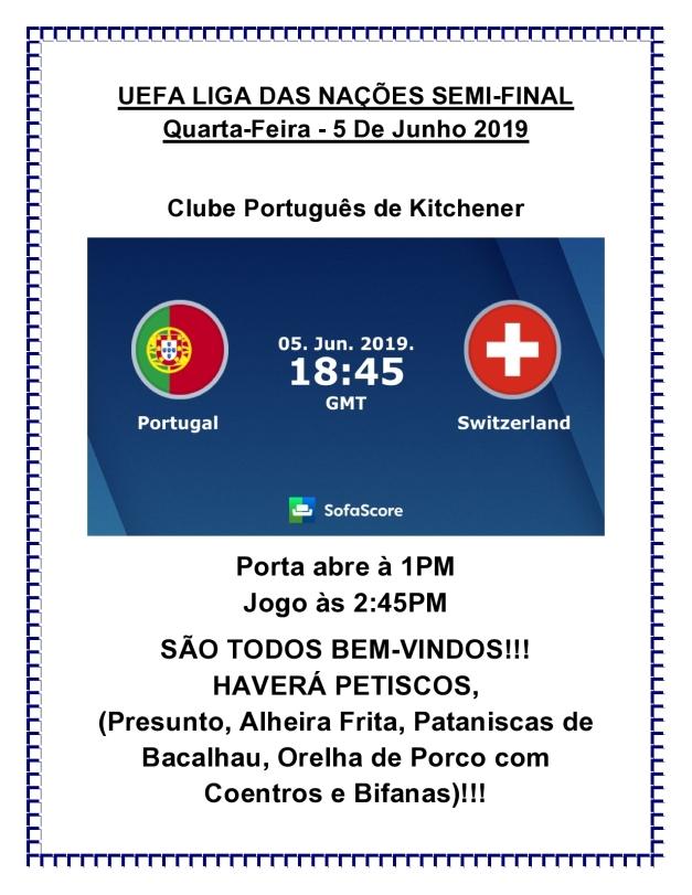 UEFA LIGA DAS NAÇÕES SEMI-FINAL