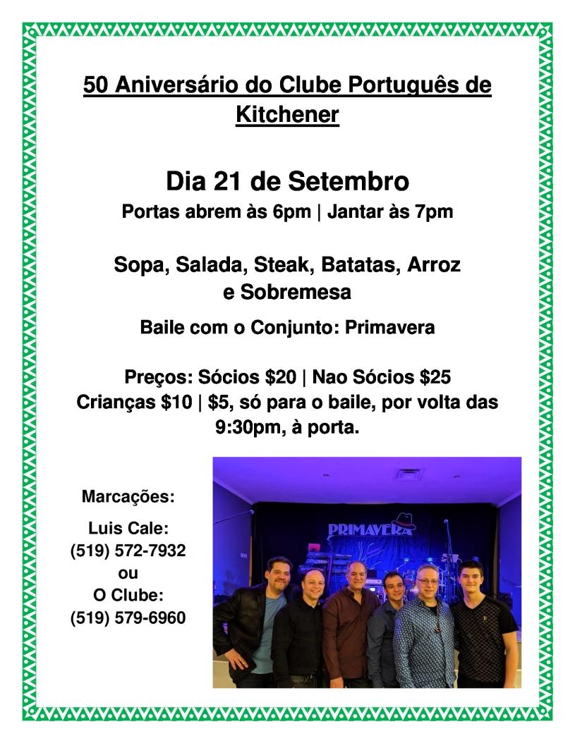 50 Aniversário Do Clube Português De Kitchener